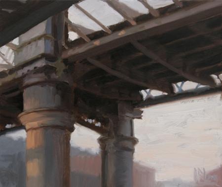 Bridge, Castlefield by Norman Long