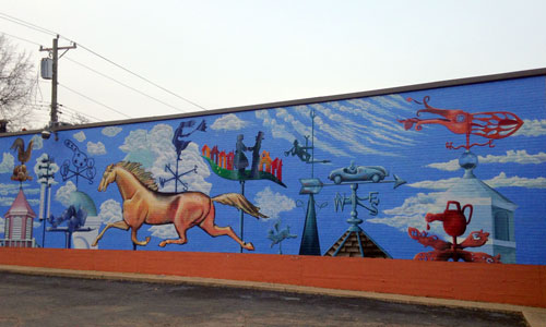 A perfect day in college hill by scott donaldson for A perfect day mural