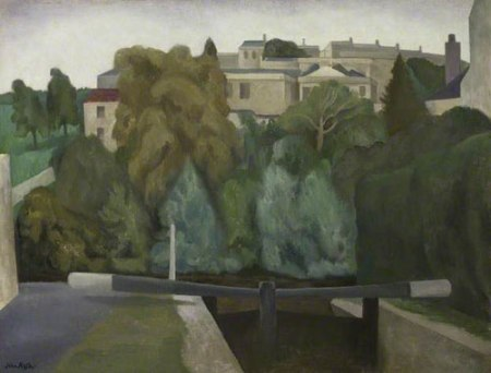 Lock Gates, Bath by John Northcote Nash