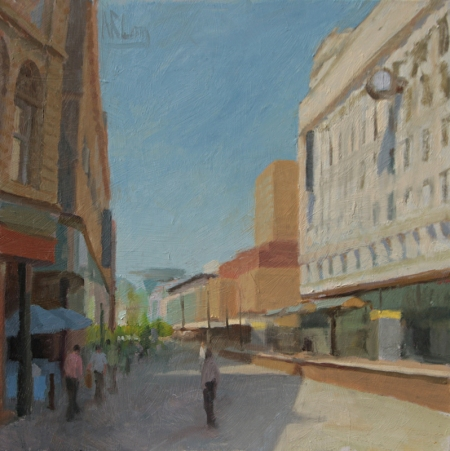 Market Street Morning by Norman Long