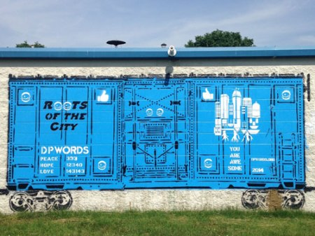 Monon Love Train by Peat Wollaeger