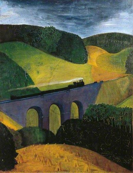 The Viaduct by John Northcote Nash