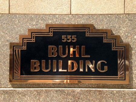 Buhl Building by Wirt C. Rowland