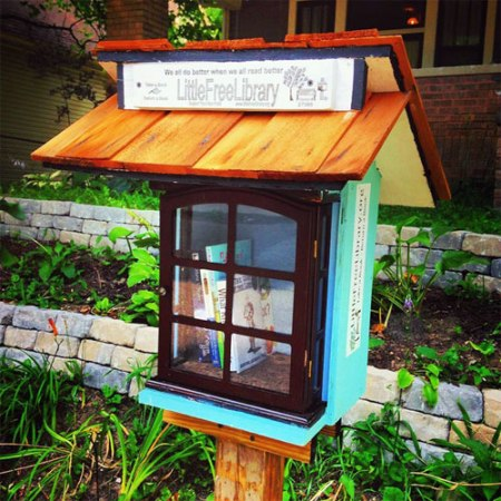Little Free Library in Indianapolis