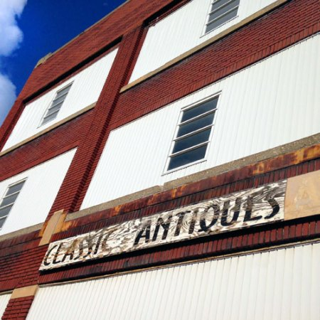Classic Antiques & Collectibles Ghost Sign in Toledo