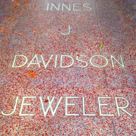 Innes J. Davidson Jeweler Ghost Sign in Ferndale